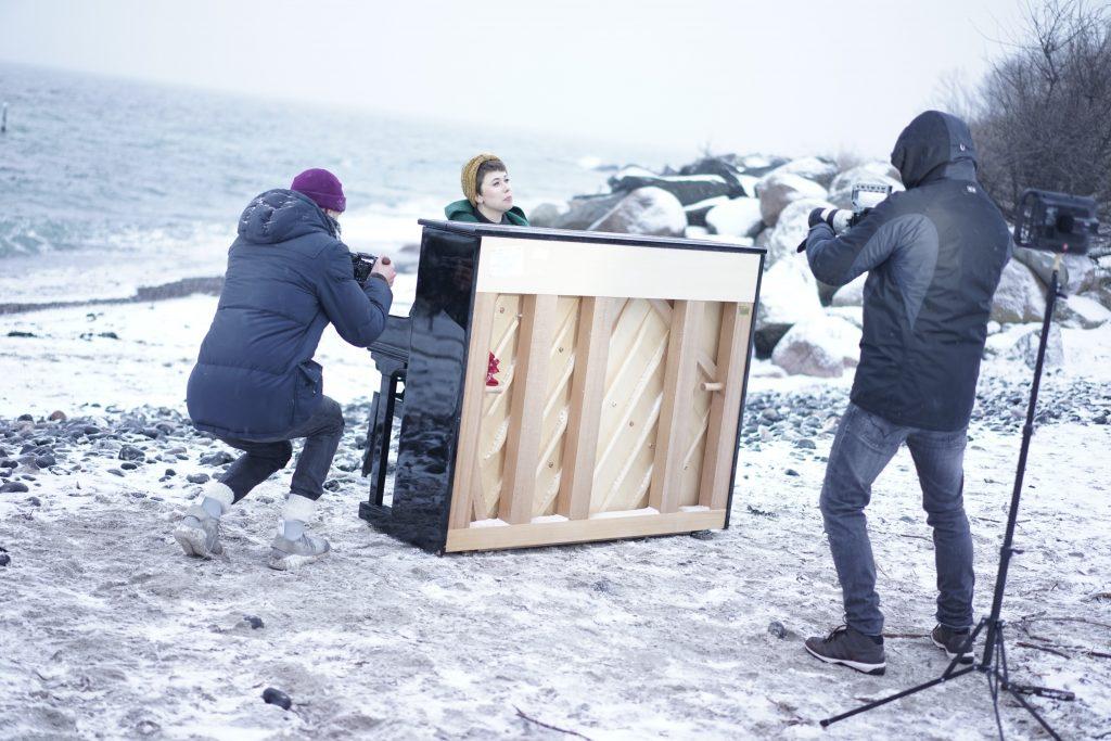 Ada Brodie The Shore Behind The Scenes